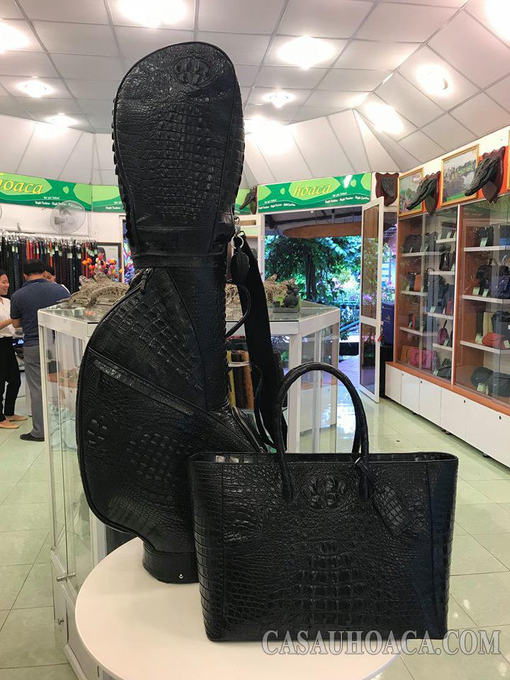 Showroom Trại Cá Sấu Hoa Cà