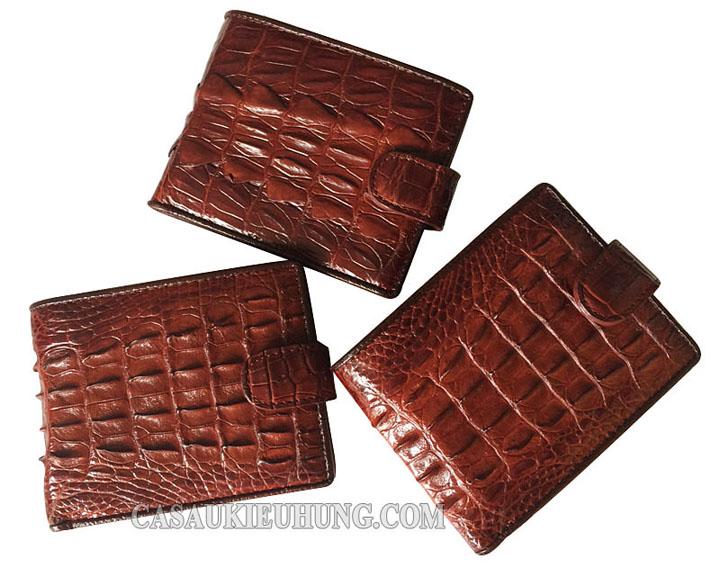 Các loại ví bóp da: