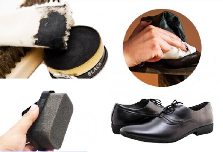 Các bước đánh bòng giày da
