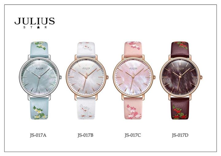 Mẫu đồng hồ hàng hiệu Julius