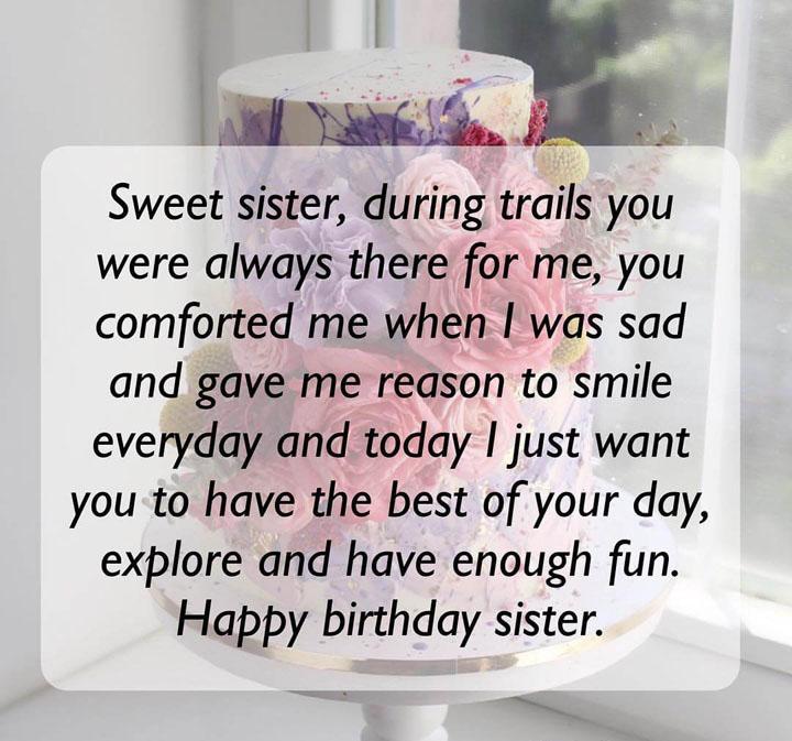 lời chúc chị gái
