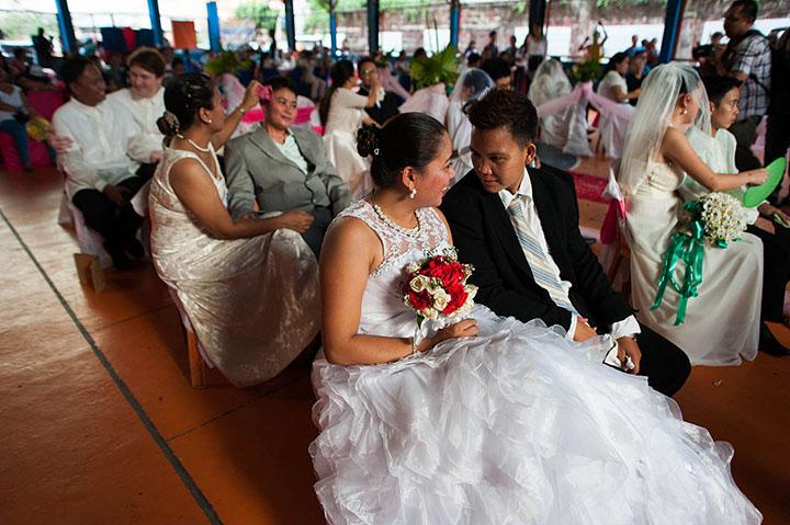 tổ chức đám cưới ngày valentine