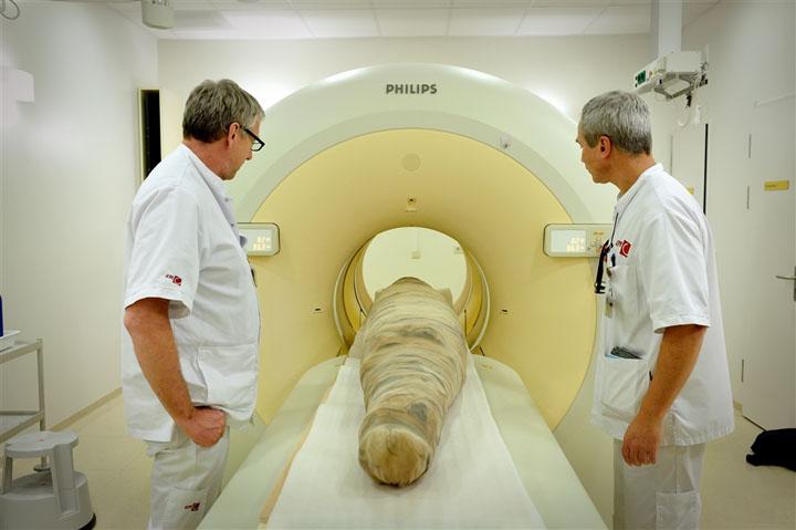Công nghệ chụp 3D ướp xác của người Ai Cập cổ.