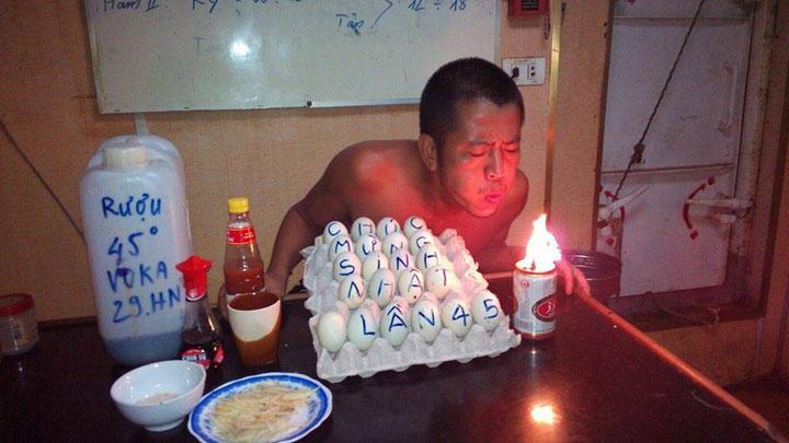 sinh nhật độc đáo