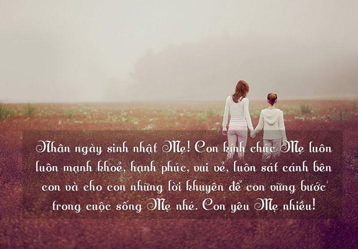 lời yêu cho mẹ