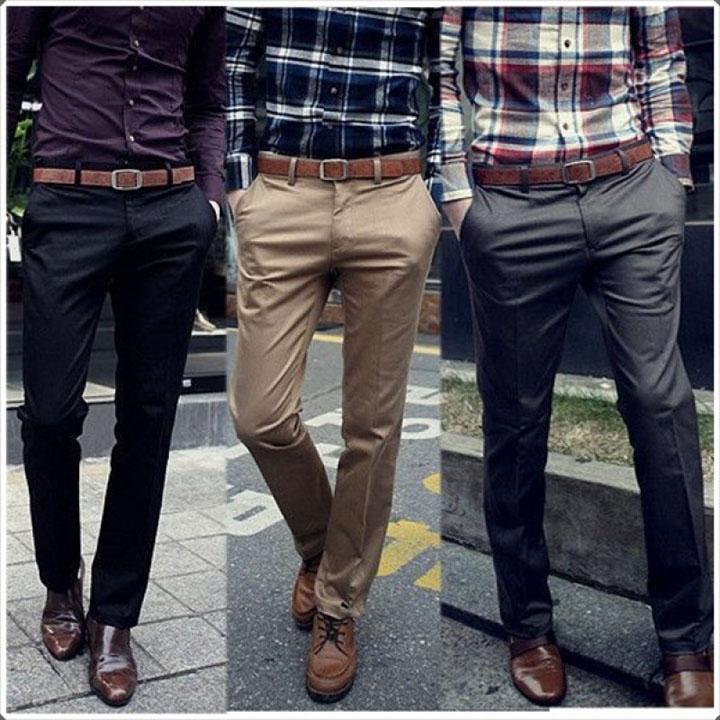 Phối thắt lưng và giày cùng style với nhau
