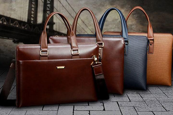 Chọn túi xách nam công sở ưu tiên màu sắc cơ bản
