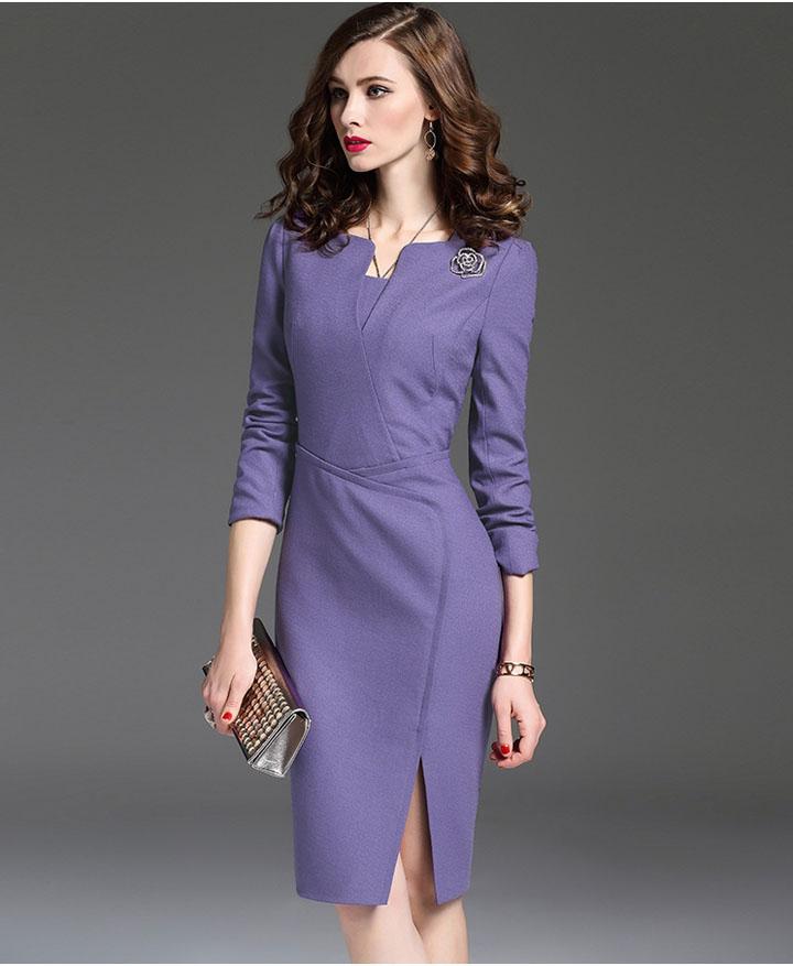 Váy vest công sở liền thân