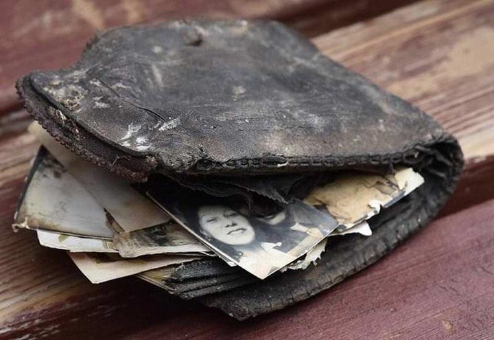 bỏ đi ví cũ