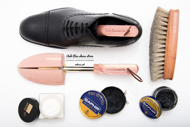 Bộ dụng cụ bảo vệ giày da