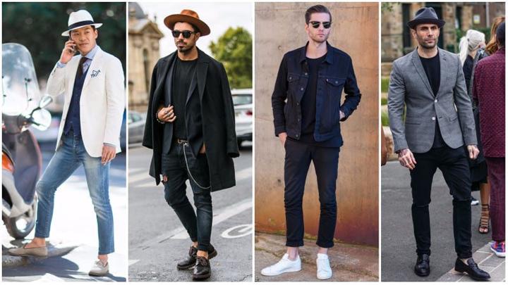 Các loại giày phối với quần jean đẹp