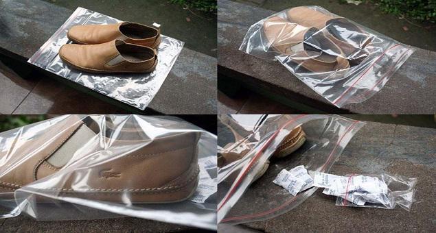 Cách khử mùi và làm sạch giày