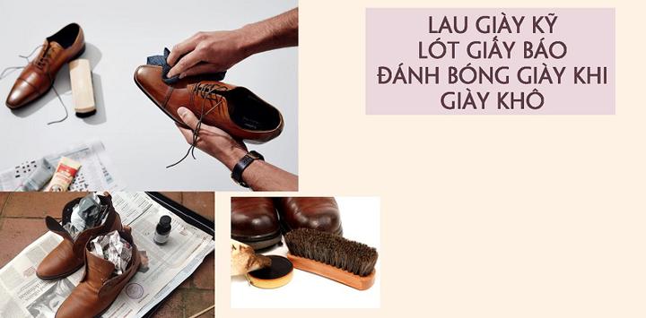 Cách xử lý khi giày bị ẩm