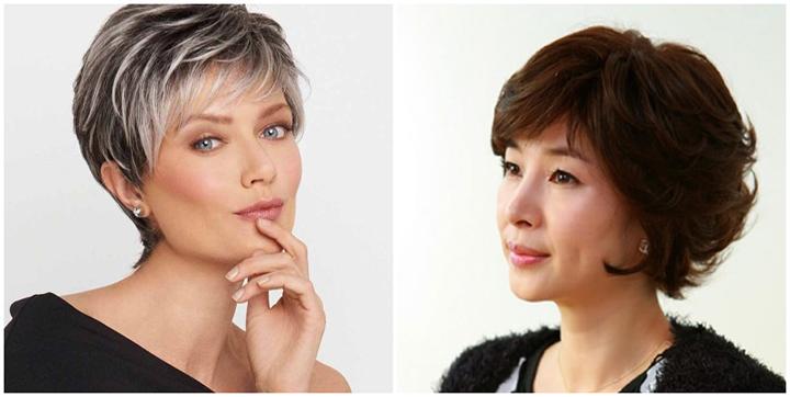 Kiểu tóc đẹp cho phụ nữ tuổi 50, 60 trung niên lớn tuổi mới 2020