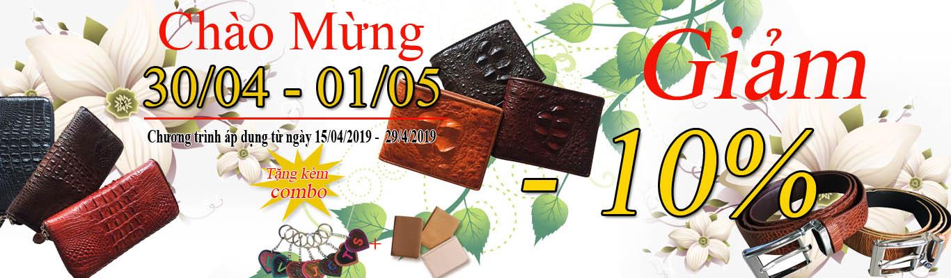 Giảm 10% + Quà tặng Combo hấp dẫn kỷ niệm ngày 30/4-1/05