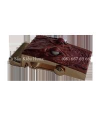 Mặt thắt lưng hình đầu cá sấu Kiều Hưng 3,5F
