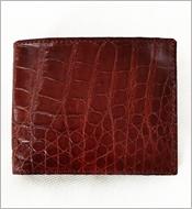 Bóp cá sấu da bụng 7 ngăn thẻ nâu đỏ KH580. BH 1 năm. Hàng có sẵn