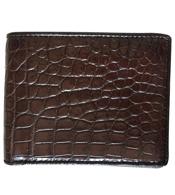 Bóp da cá sấu da bụng màu nâu giá 580K chỉ có ở Cá Sấu Kiều Hưng