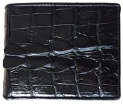 Bóp da cá sấu đuôi cuối - kh-lmb01, đen, BH 3 năm, đổi trả 30 ngày