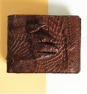 Ví da cá sấu Kiều Hưng da bàn tay. BTH899. BH 3 năm, Hàng có sẵn