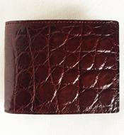 Bóp da cá sấu Kiều Hưng, nâu đỏ, LM058. BH 3 năm. Hàng có sẵn