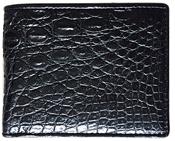 Bóp da cá sấu vân nhỏ nắp lật - kh-lmb01. BH 3 năm đổi trả 30 ngày