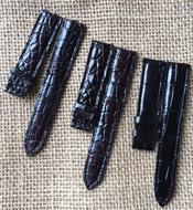 Dây đồng hồ cá sấu Kiều Hưng khoá bướm 20-18mm -K285 Hàng có sẵn