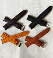 Dây đồng hồ cá sấu Kiều Hưng 20-18mm Nhiều màu Giá rẻ Hàng có sẵn