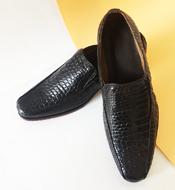 Giày tây cá sấu Kiều Hưng. LM5399  giảm 22% . Màu đen BH 3 năm.