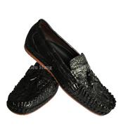 Giày da nam cá sấu da trơn size 39