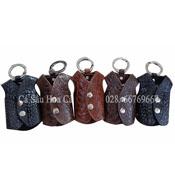 Móc khóa cá sấu Hoa Cà hình áo khoác - 2180