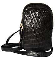 Hot túi đeo chéo da cá sấu đeo ngực màu đen giá siêu rẻ Kiều Hưng