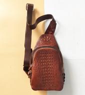 Túi đeo chéo da cá Sấu Kiều Hưng. LM5599. BH 3 năm. Hàng có sẵn