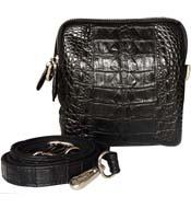 Túi đeo bụng cá sấu Kiều Hưng. TH5199. Đen. BH 3 năm Hàng có sẵn
