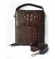Túi đeo chéo nam cá sấu Kiều Hưng. LM5199. BH 3 năm. Hàng có sẵn
