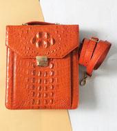 Túi đeo chéo Cá Sấu Kiều Hưng - LM6599 Cam. BH 3 năm Hàng có sẵn