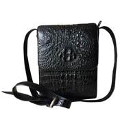 Túi đeo chéo cá sấu Kiều Hưng - KH7499. Đen. Giảm giá. BH 3 năm