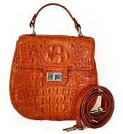 Túi đeo chéo Cá Sấu Kiều Hưng KH7499 Màu cam Giảm sốc Hàng có sẵn