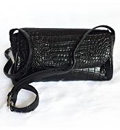 Túi đeo chéo da cá sấu nữ LM3999. Kiểu Bầu. BH 3 năm, đổi 30 ngày