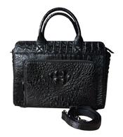 Túi xách đi làm da cá sấu màu đen BH 3 năm giá rẻ Cá Sấu Kiều Hưng