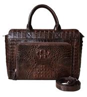 Túi xách đi làm da cá sấu loại lớn BH 3 năm giá rẻ Cá Sấu Kiều Hưng