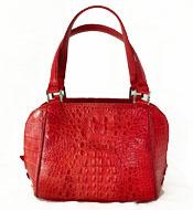 Túi xách da cá sấu nữ cầm tay, đeo vai màu đỏ tại Cá Sấu Kiều Hưng