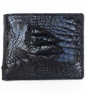 Ví da cá sấu Kiều Hưng bàn tay, đen. BTH899. BH 3 năm Hàng có sẵn