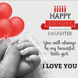 Lời chúc sinh nhật con gái yêu của bố bẹ hay nhất 2018